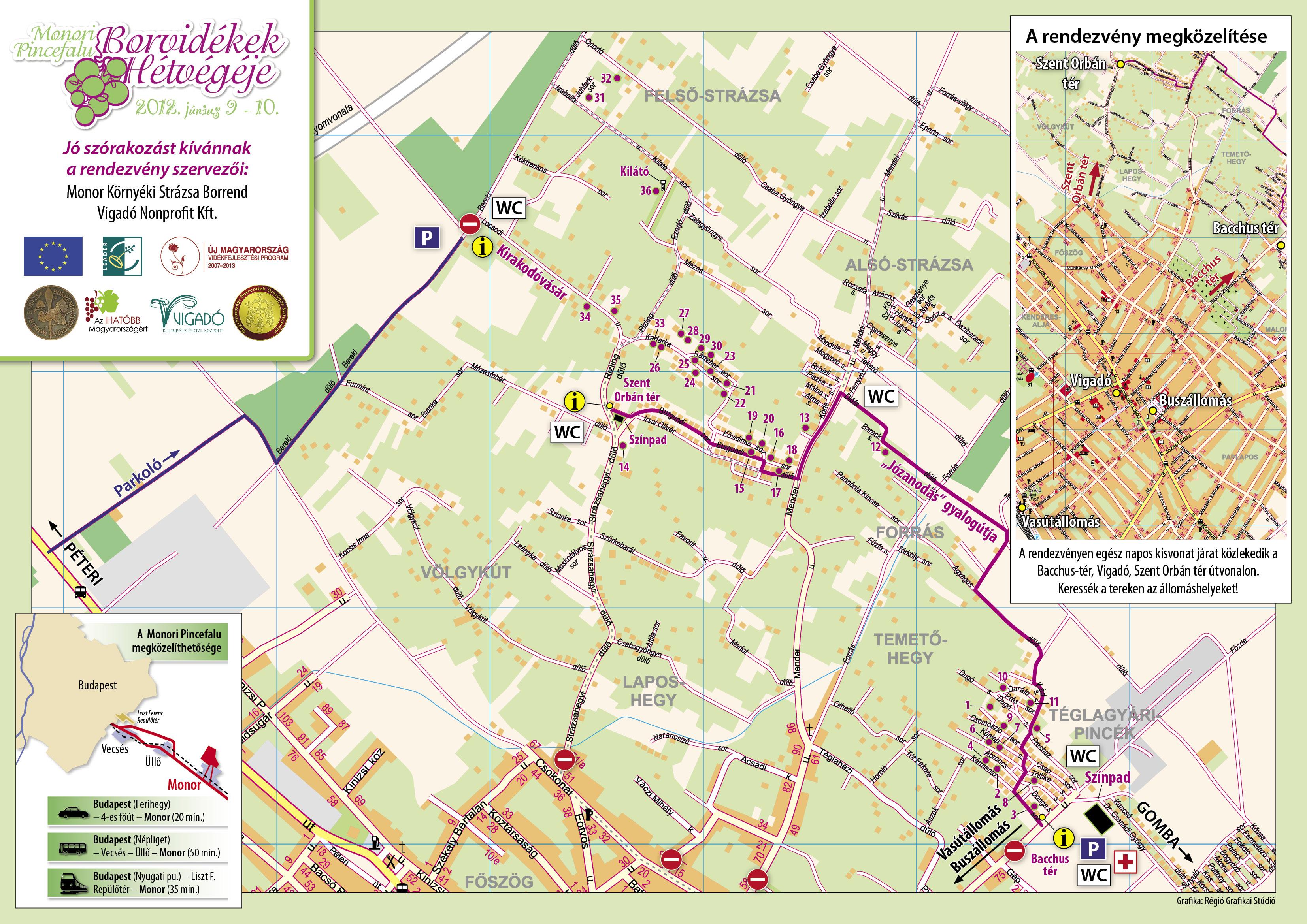 monor térkép Monor Környéki Strázsa Borrend » Borvidékek hétvégéje 2012 monor térkép