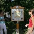 Tanösvény tábláinak és környezetének gondozása