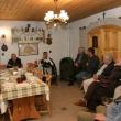 Strázsahegyi Tekerő, megbeszélés a Lendvai pincében