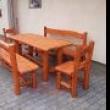 Rönkfa kerti bútorok és játszótéri eszközök Üllőről