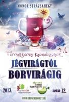 Monori Pincefalu, Kalandozások Jégvirágtól Borvirágig, bortúra, borkóstoló