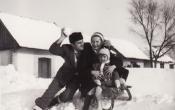 Gados család 1953 telén