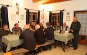 Nagytanácsi megbeszélés ( monori pincefalu )