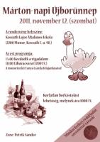 Márton-napi Újbor Ünnep és Libalakoma 2011