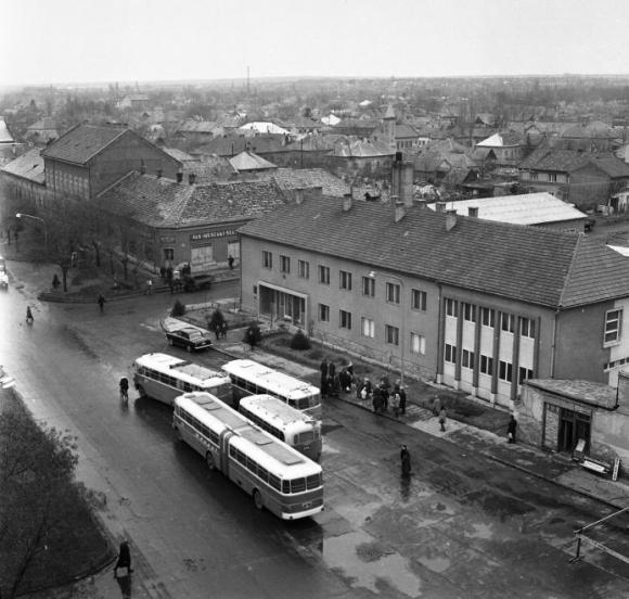Kossuth L. u. Ikarus buszok