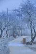 téli kirándulás a Monori Pincefaluban