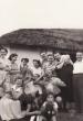 Baráti társaság  az öreg pince előtt 1953 nyarán.